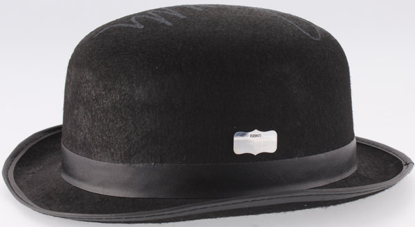 Hat from Clockwork Orange signed by Malcom McDowell COA